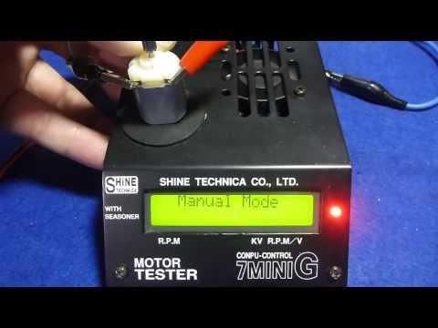 TAMIYA Mini 4WD Motor RPM Check - Part 2