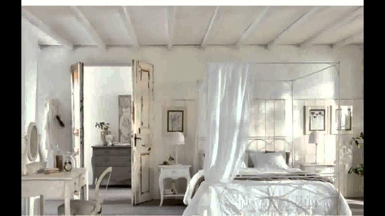 schlafzimmer landhausstil gestalten ideen youtube