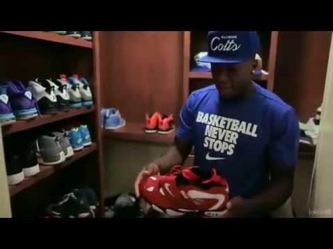 Nate Robinson's Sneaker Closet 2013 - YouTube