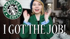 MY SUCCESSFUL STARBUCKS BARISTA INTERVIEW - NYC 2017