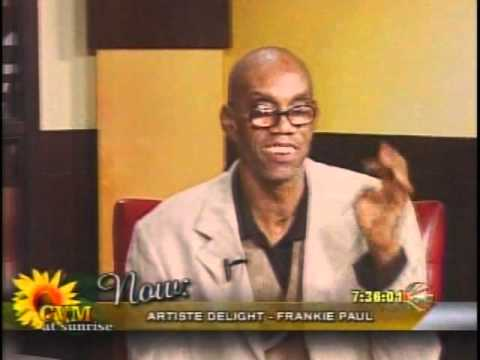 Frankie Paul On CVM@Sunrise.wmv