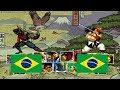 Samurai Shodown 2 Tjsilva22 (brazil) VS The Kahn (brazil) Fightcade