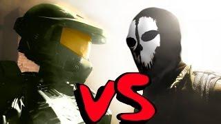 DANCE WARS: HALO vs COD