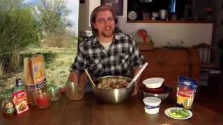 Bison Bobs Easy Taco Salad April 2015