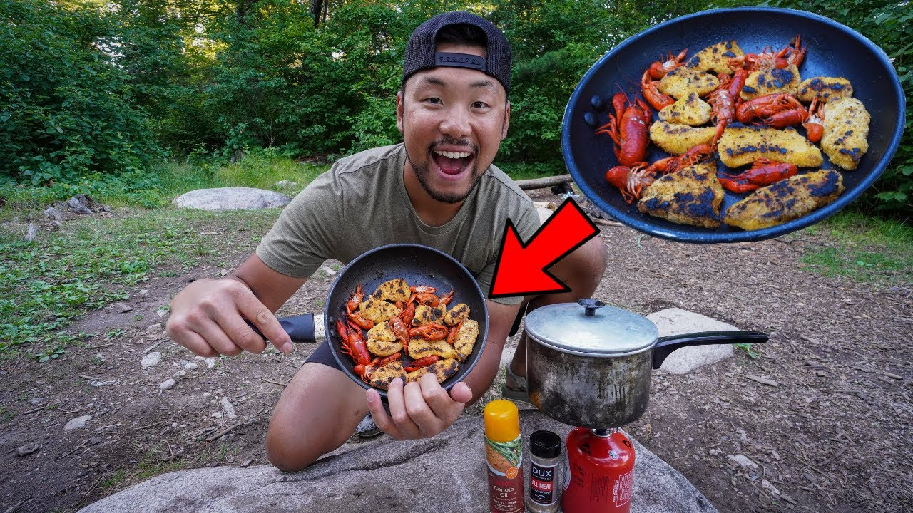 Catch, Cook, and Camp - Wild Crawfish & Pike Edition!