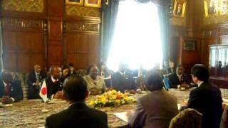 ボツワナ共和国国民議会議長と会談