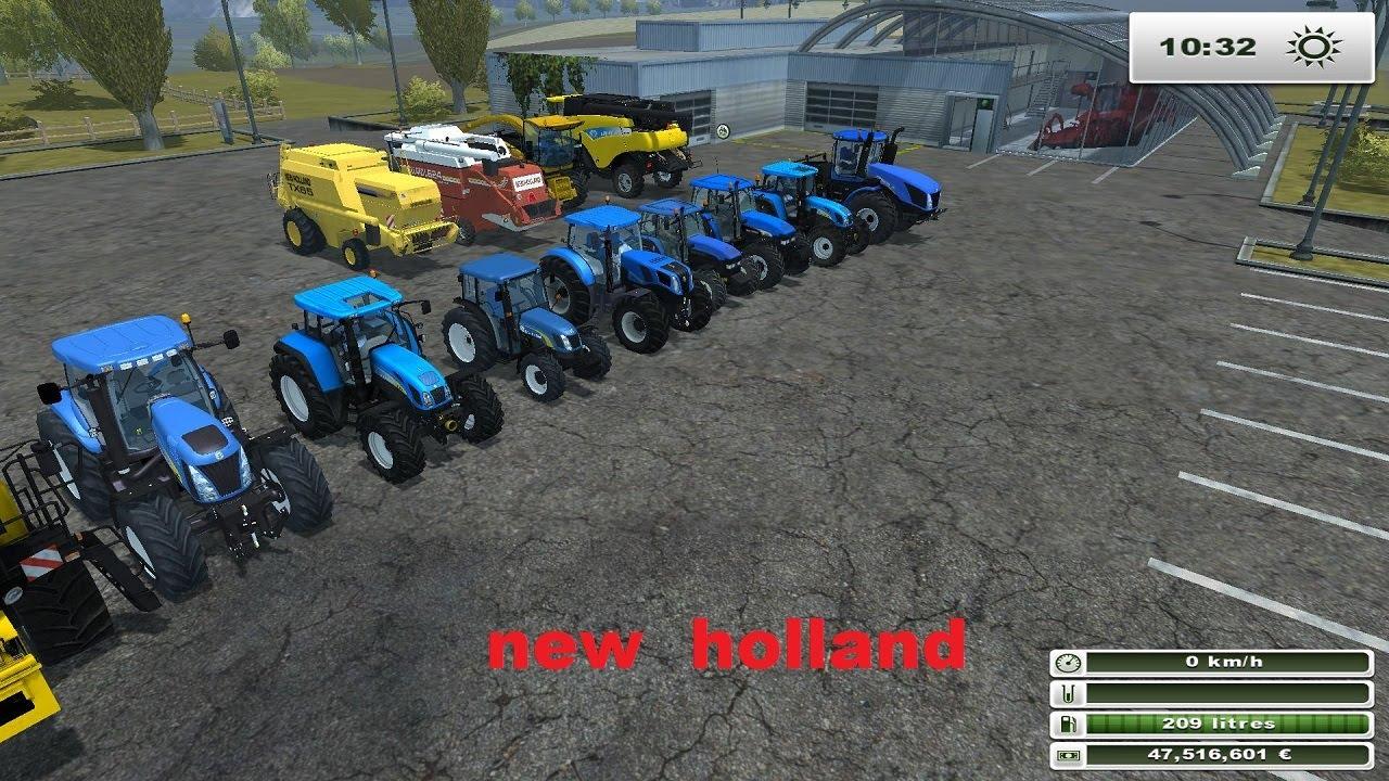 Farming simulator 2013 presentation des mods new holland