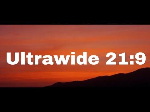Ultrawide Sunset Nature  Screensaver 4K U or