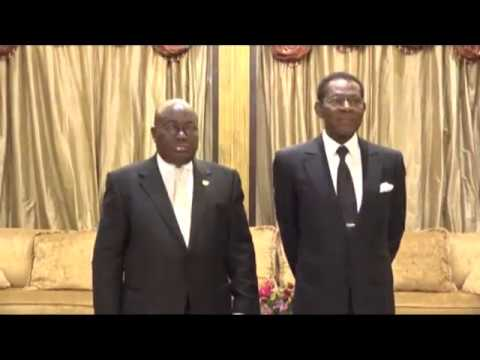 GHANA TO STRENGTHEN BILATERAL RELATIONS WITH EQUATORIAL GUINEA_AKM 1