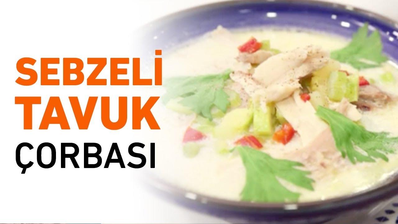 Körili Tavuk Çorbası Tarifi Videosu