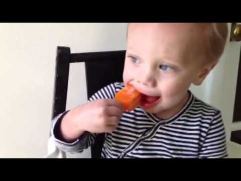James and the orange Popsicle