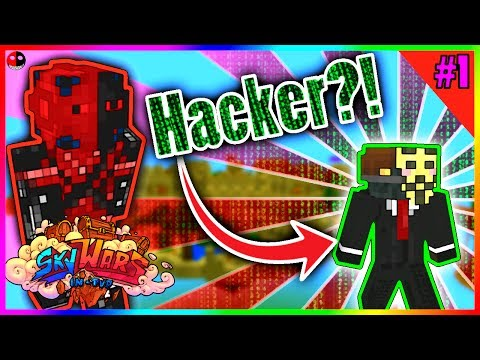 EXPOSING HACKERS IN PE?! Minecraft Pe Skywars #1