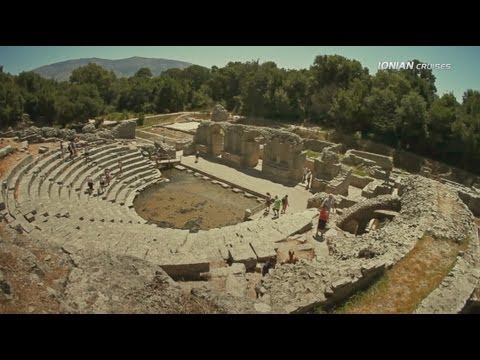 Albania Cruise from Corfu Island, Greece (Butrint National Park)