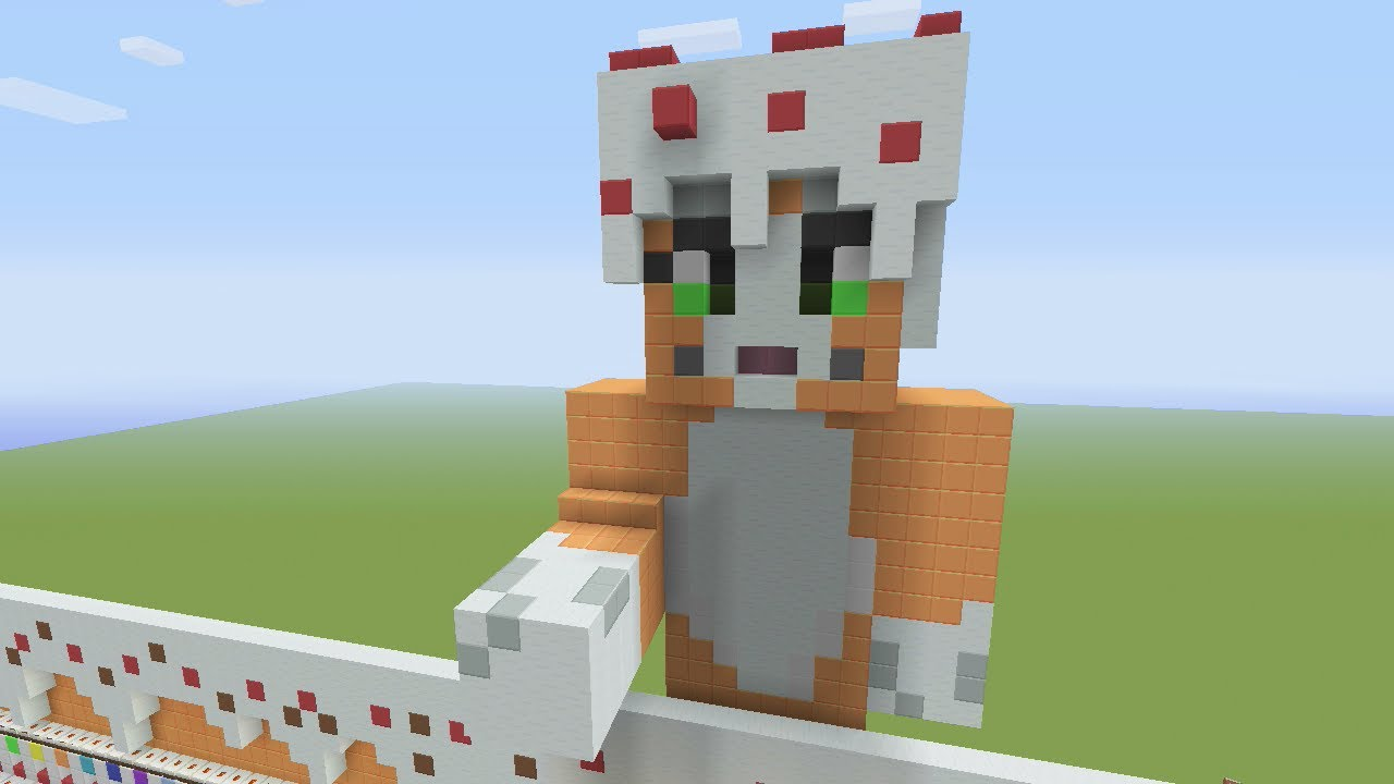 How To Make A Stampy Cat Cake