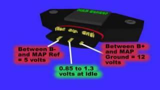 MAP or Manifold Air Pressure Sensor