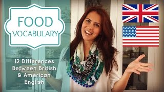 Food Vocabulary | Confusing English Words | British vs American English |