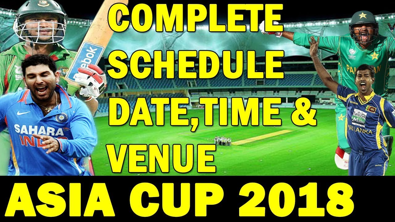 Asia cup date and time india pakistan