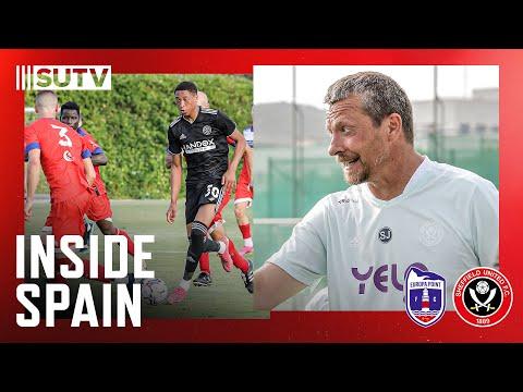 Behind the Scenes | Sheffield United 3-0 Europa Point FC | Inside Spain |  Jokanović 1st win as boss