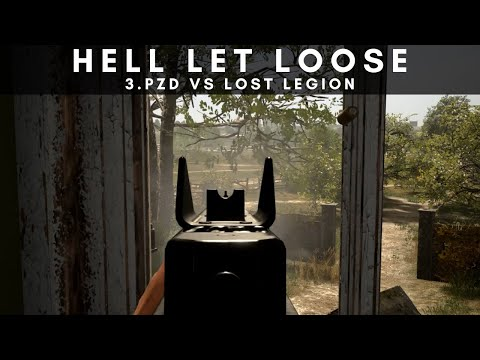 Hell Let Loose Gameplay | 3.PzD vs Lost Legion |