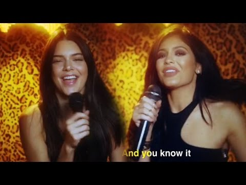 Kendall & Kylie Jenner Sing Karaoke In Music Video, Spotted Filming Spin-Off