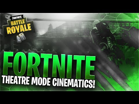 How To Get Fortnite Cinematics In Replay Mode! (Fortnite Theater Cinematic Tutorial)