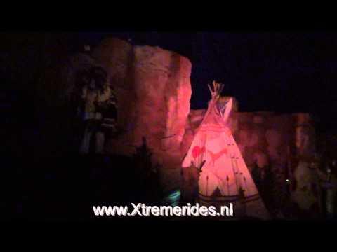 Wild Wild West Adventure Onride Slagharen Holland