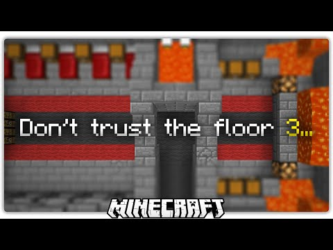 Whatever You Do, Don't Trust The Floor 3... (Minecraft)