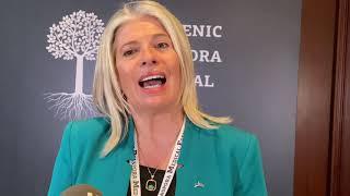 Εύη Αυλογιάρη / Επίτιμη Πρόξενος Εσθονίας Hellenic Diaspora Medical Forum