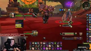 WoW streams highlights [25-12-2018] - feat. Asmongold, MusclebrahTV, 탈주닌자사스케