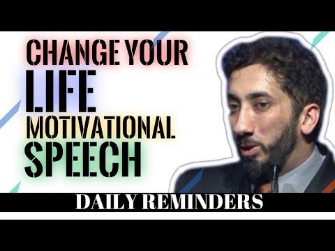 CHANGE YOUR LIFE MOTIVATIONAL SPEECH I NOUMAN ALI KHAN NEW I ISLAMIC TALKS 2020 I ENGLISH SUBTITLES