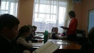 Урок родного языка гимназия №102 им М.С. Устиновой г.Казань