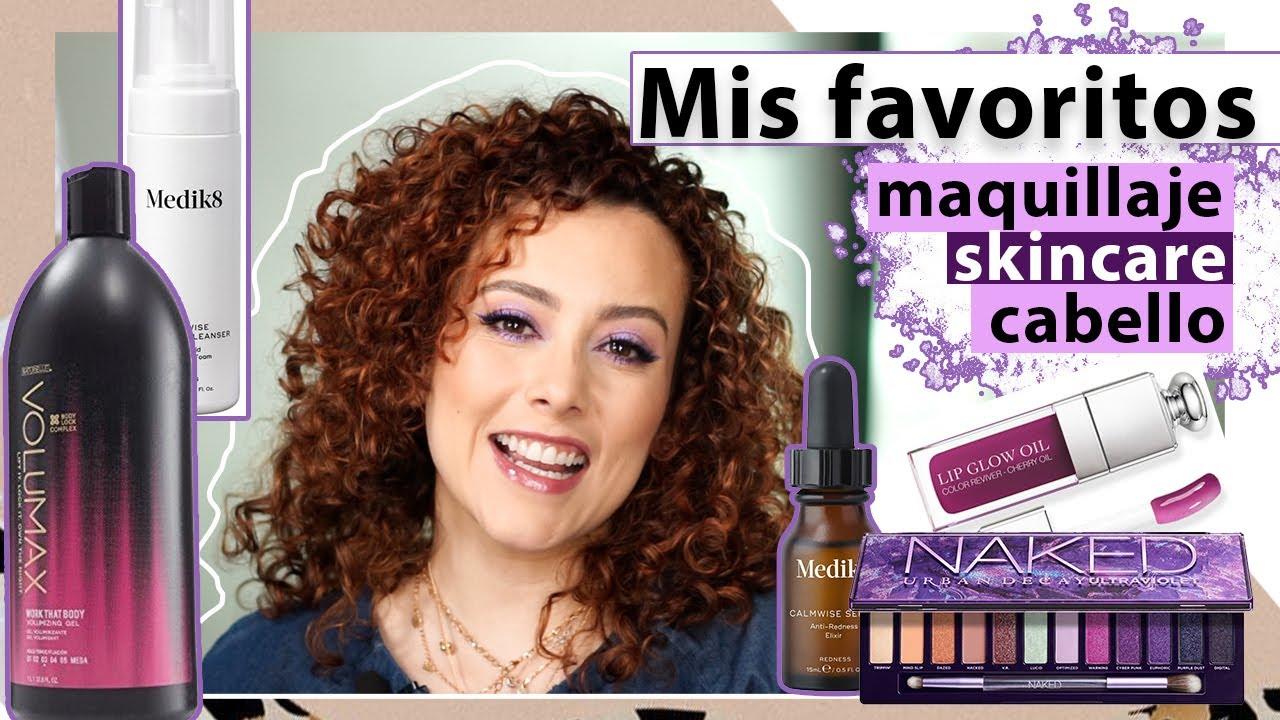 Mis favoritos de Julio/ maquillaje, skincare y cabello