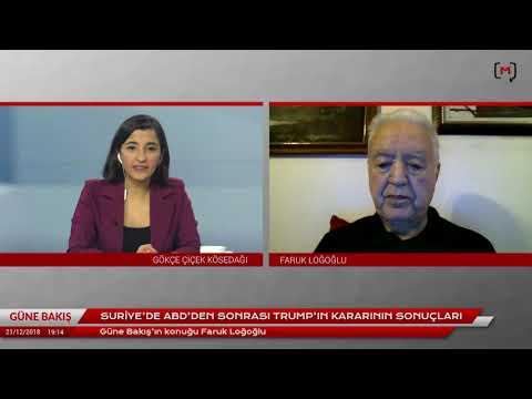 """Güne Bakış (21 Aralık 2018): Faruk Loğoğlu ile """"Trump'ın Suriye kararının sonuçları"""""""