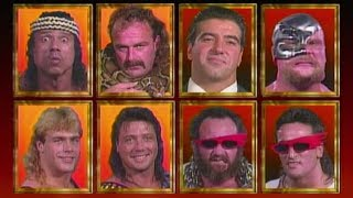 WWF Survivor Series 1990 | The Vipers Vs. The Visionaries #3