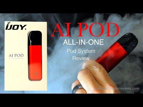 IJoy | AI Pod Vape System | Starter Kit Review