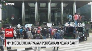 KPK Digeruduk Karyawan Perusahaan Kelapa Sawit