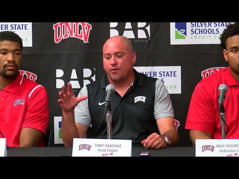 8.29.17 UNLV Football Week One Press Conference
