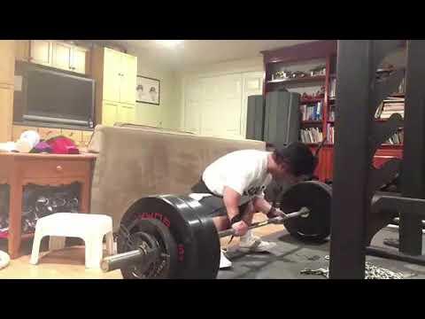Dwarf deadlifts 285lbs!!! Jeremy smith