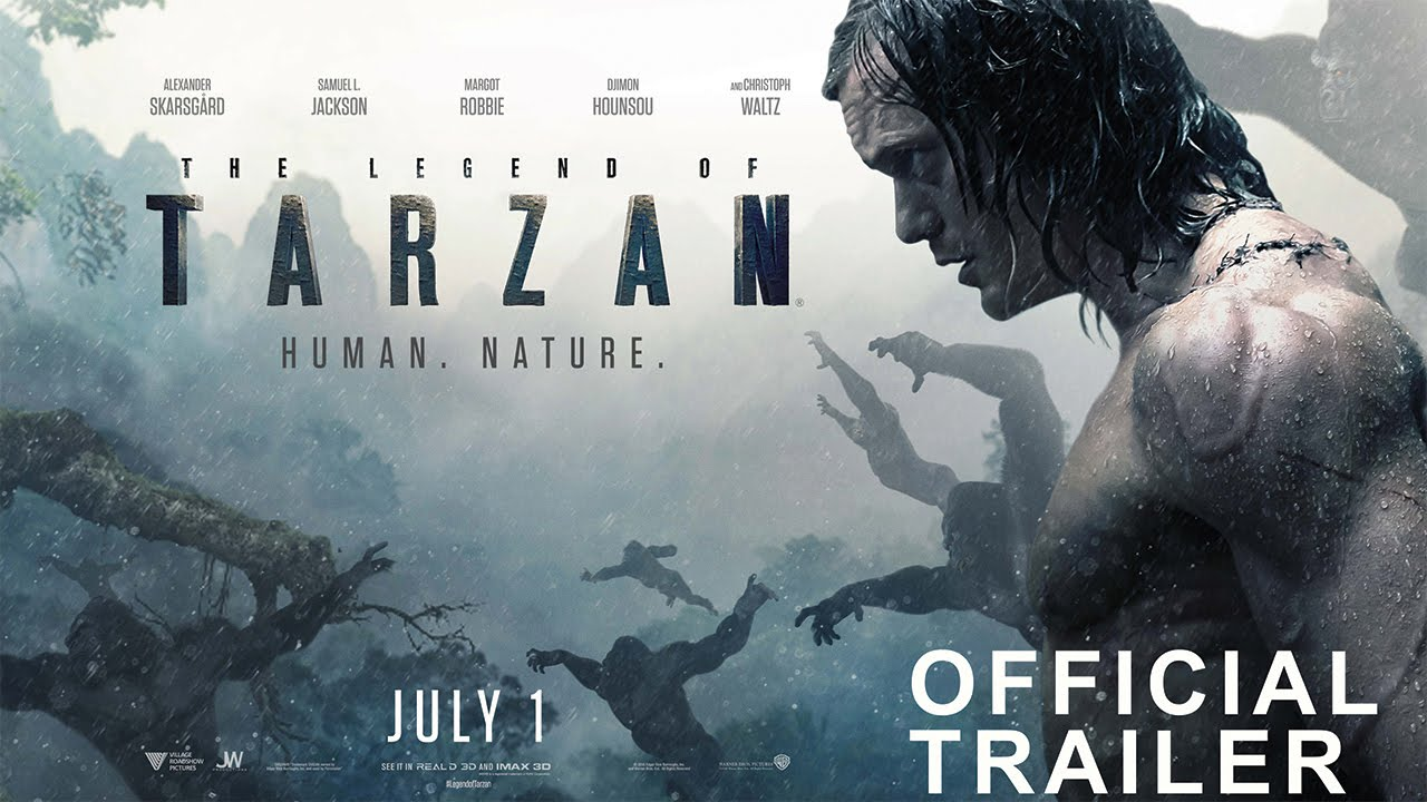 Download THE LEGEND OF TARZAN - Official Trailer 2