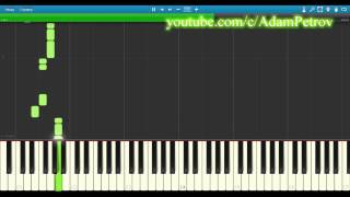 Pet Shop Boys - Domino Dancing Synthesia (piano tutorial & cover)
