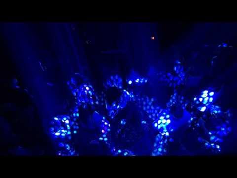 Trippy Trance Light Show Vulcan Gas Company 4K