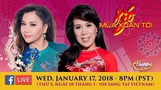 Livestream với Minh Tuyết & Mai Thiên Vân Jan 17, 2018