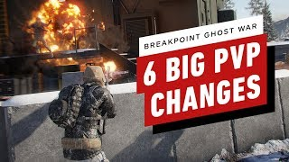 6 Big Changes in Ghost Recon Breakpoint's PVP