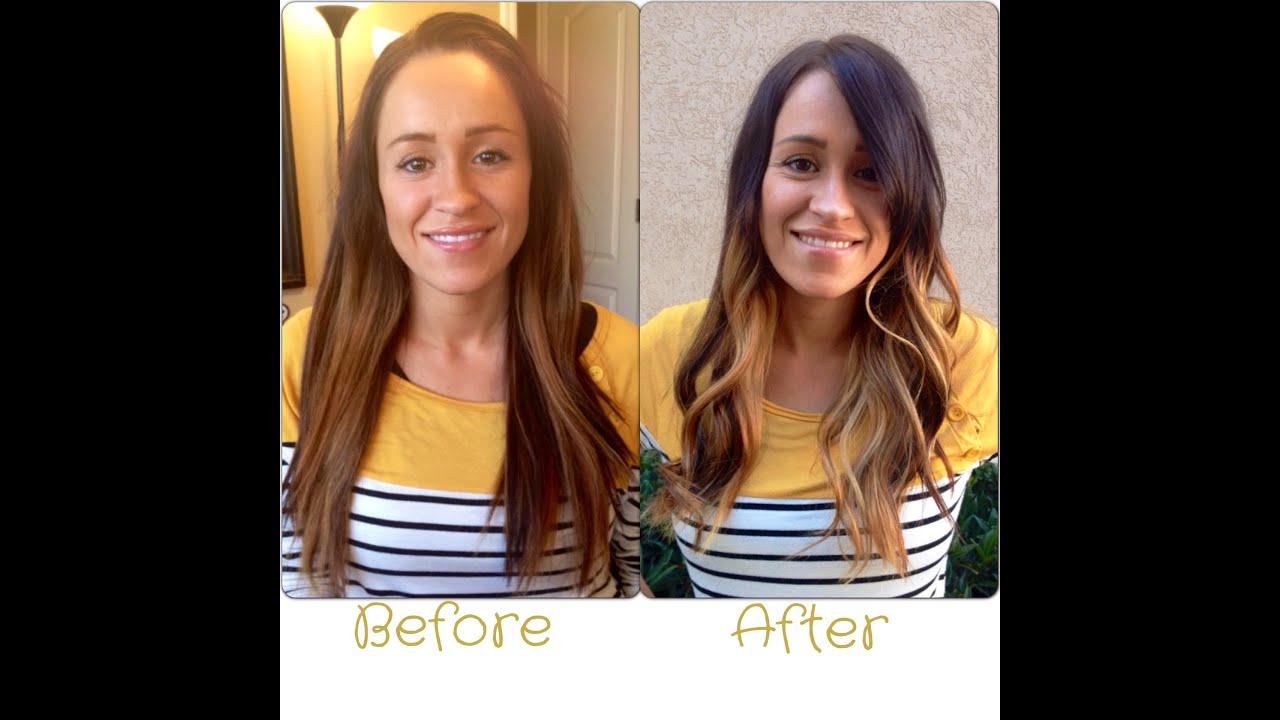 How I do the Melt/Ombre || Hair Tutorial || Melt - YouTube