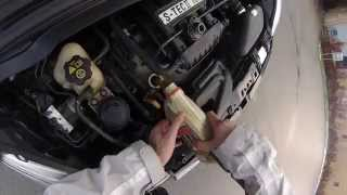 Chevrolet Spark oil change