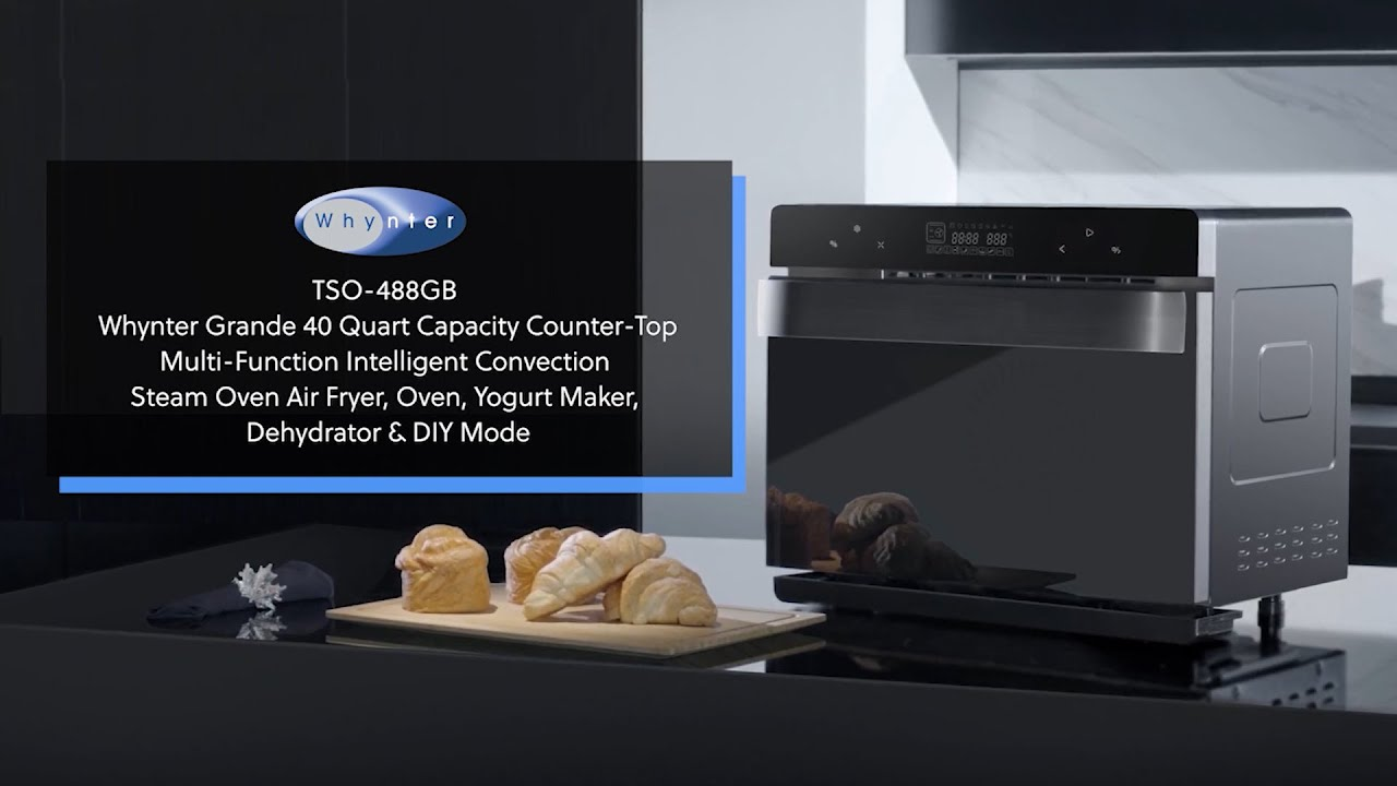 Multifunctional Convection Steam Oven video thumbnail