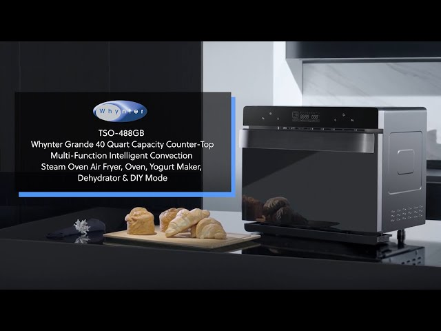TSO-488GB Whynter Grande Counter-Top Multi-Function Intelligent Convection Steam Oven