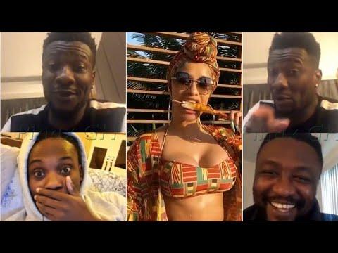 🔴Micheal Essien, Asamoah Gyan Reacts to Cardi B Celebs Snub!