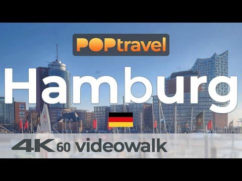 Walking in HAMBURG / Germany - Central City