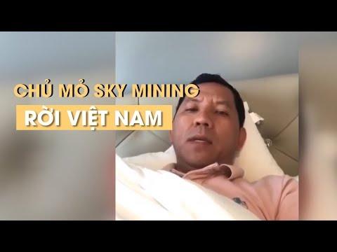 Điêu đứng vì chủ mỏ đào tiền ảo Sky mining đã rời Việt Nam